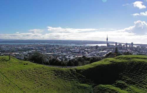 Auckland and Wellington