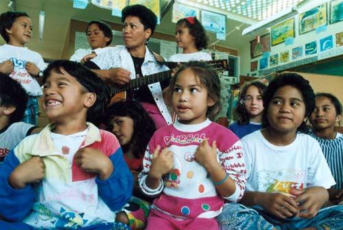 Māori language class
