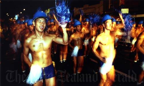 Hero parade, Auckland, 1998