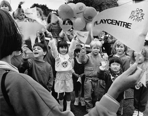 Playcentre children, Wellington