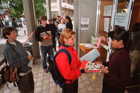 Orientation week, University of Otago