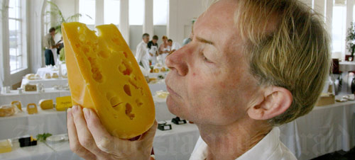 Cheese award judge Michael Hooper