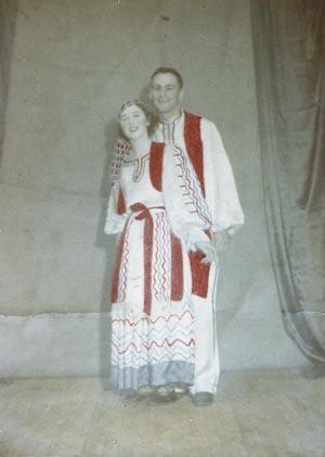 Kola dancers, Dargaville, 1936