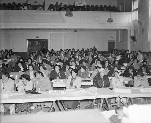 Māori Women's Welfare League conference, 1953