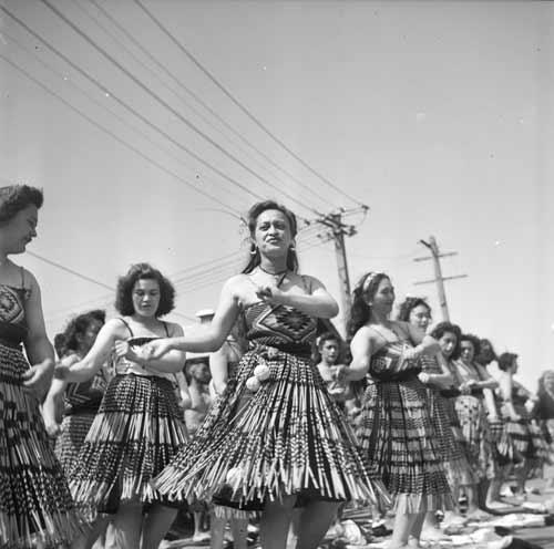 Welcoming the Māori Battalion