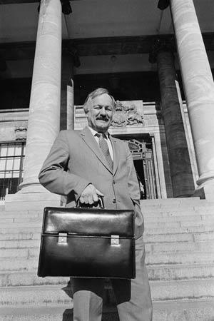 Roger Douglas, July 1984