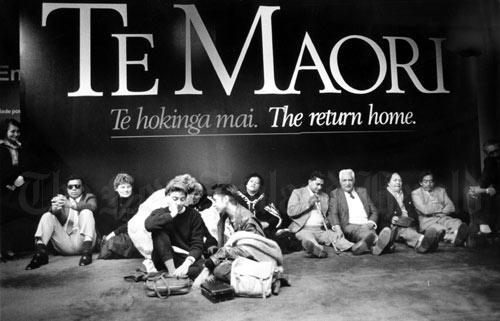 Te Māori exhibition