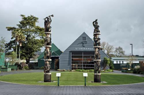 Pou whakairo ki Ōtorohanga