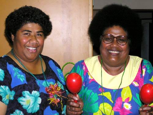 Fijian radio announcers