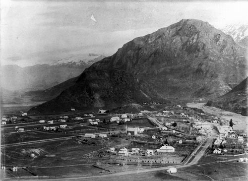 Arrowtown in the 1880s