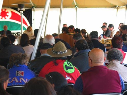 Waitangi Tribunal hearing at Waikaremoana, 2004
