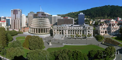 New Zealand's Parliament Buildings