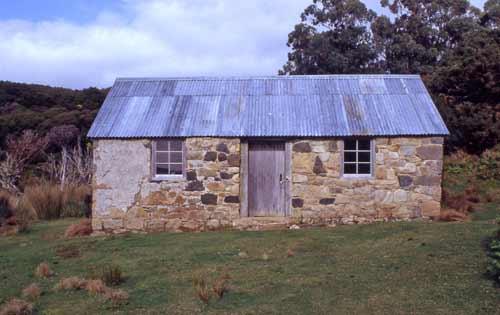 Lewis Acker's house, Stewart Island