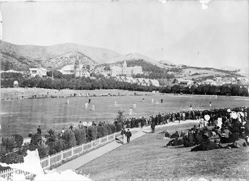 Basin Reserve – a new cricket ground