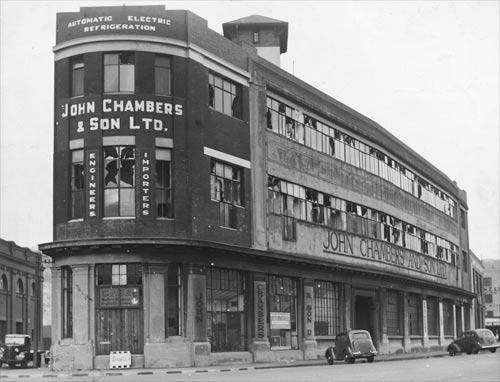 John Chambers building, Jervois Quay