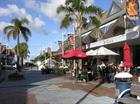 Tauranga street scene.