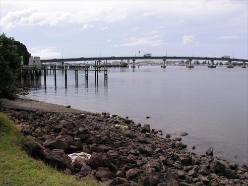 Harbour bridge, Tauranga.