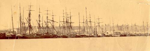 Hokitika in the 1860s