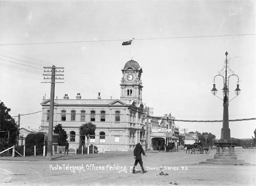 Feilding Post and Telegraph Office