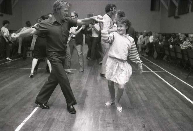 Dancing at Rotowaro hall