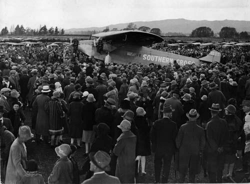 Southern Cross monoplane