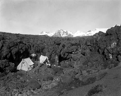 Field camp, Mt Ruapehu