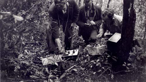 Early geophysical survey