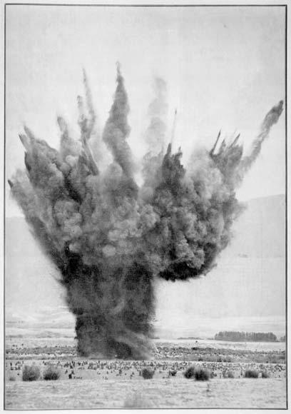 Geophysical explosion