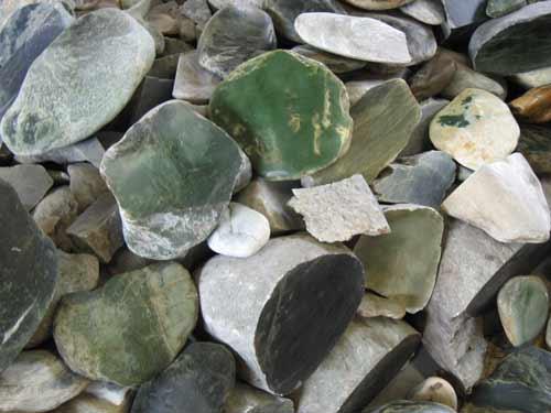 Varieties of pounamu