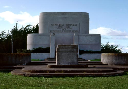 Early settlers' memorial