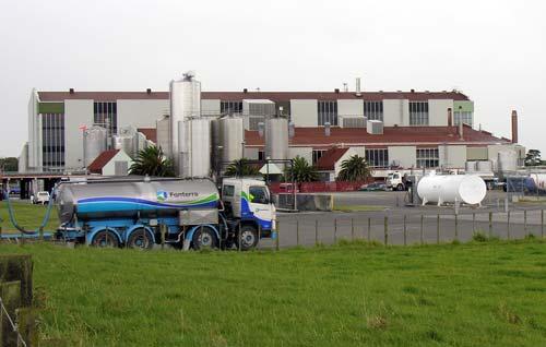 Longburn dairy factory