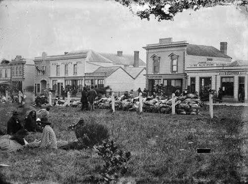 Māori in the Square