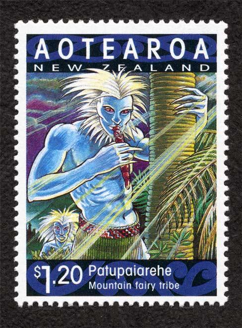 Patupaiarehe stamp