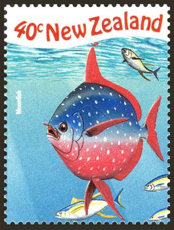 Moonfish stamp