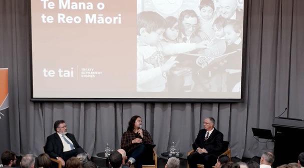 Public history talk: Te mana o te reo Māori
