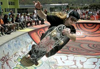 Roller skating and skateboarding