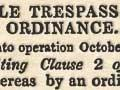 Cattle Trespass Amendment Ordinance 1844