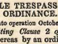 Cattle Trespass Amendment Ordinance 1844