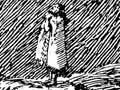 Te Aohuruhuru singing her death chant
