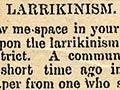 Larrikinism