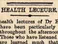 Women's health lectures