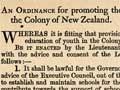 Education Ordinance 1847
