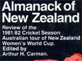 Rugby and cricket almanacks