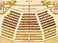 Ground floor plan of the Wanganui Opera House