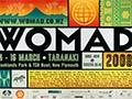 Poster for WOMAD, 2008