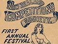 The first annual Competitions Society Festival, 1911
