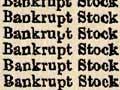 Sale of bankrupt stock