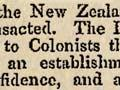 The first bank in New Zealand