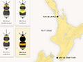 Bumblebee distribution