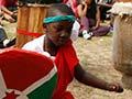 Burundian drumming and dancing